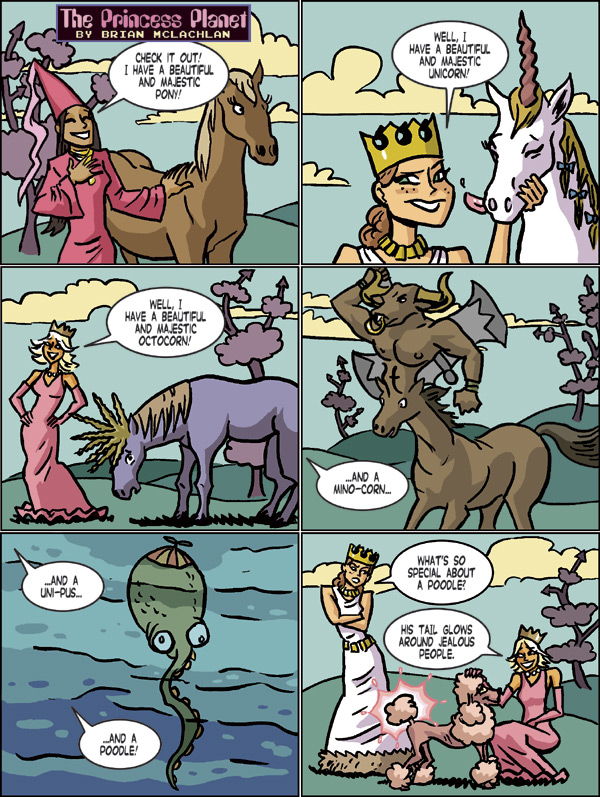 Welcome to The Princess Planet