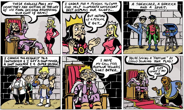Guest Strip: Brian Evinou