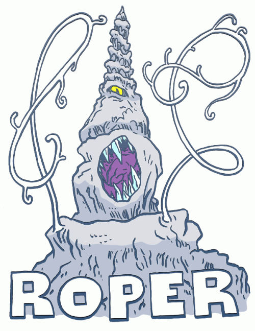 Roper monster from Dungeons and Dragons
