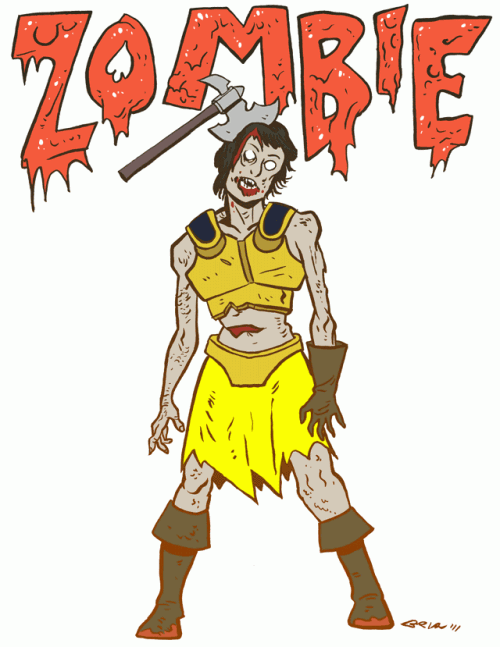 Zombie from Dungeons and Dragons Monster Manual